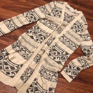 EUC long cardigan